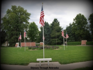 Veterans Memorial Garden in Lincoln