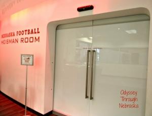 Memorial Stadium: Home of the Huskers Heisman video room