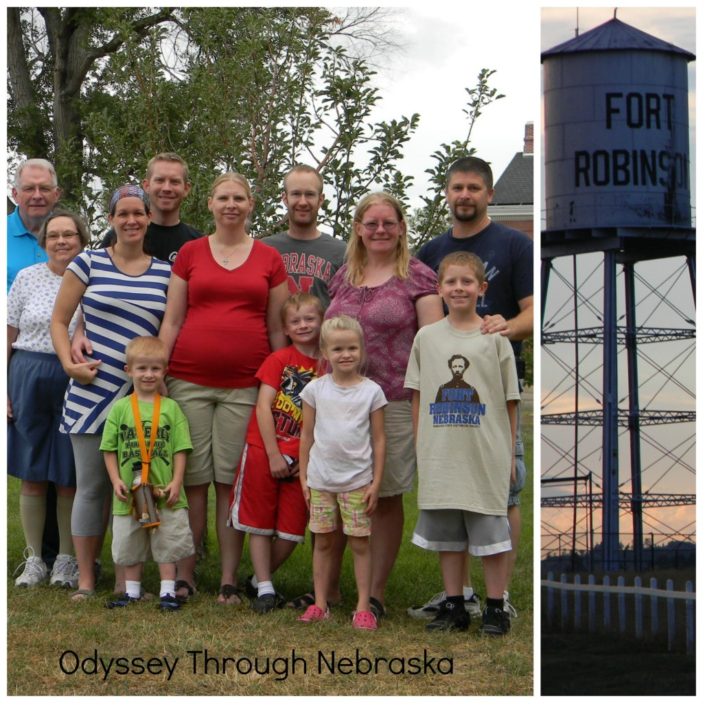 Fort Robinson Family Collage