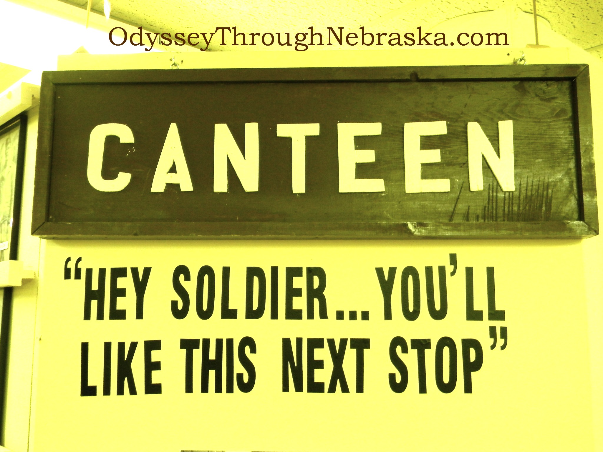 Canteen Sign Softened