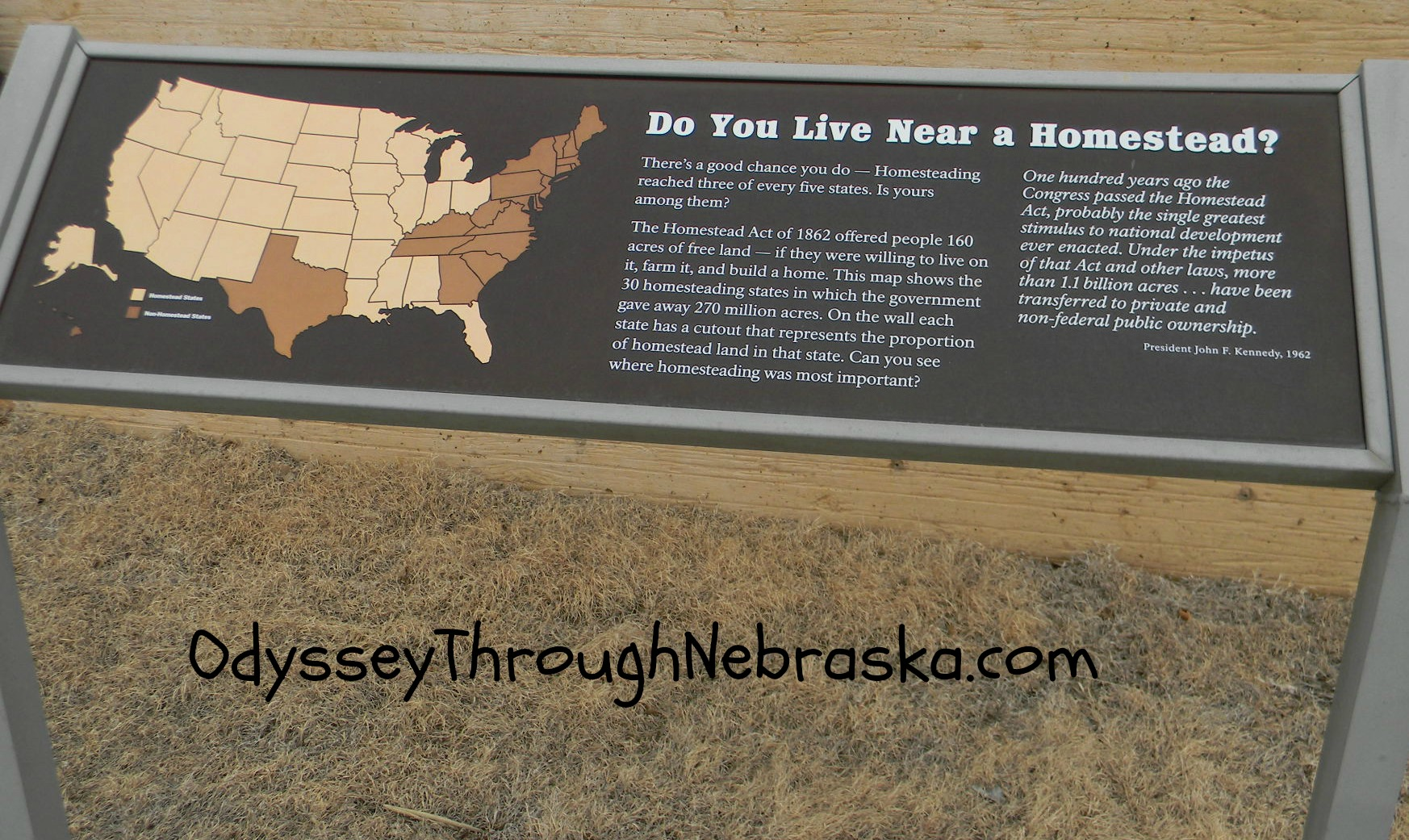 Homestead national monument in beatrice ne odyssey for Is there still a homestead act