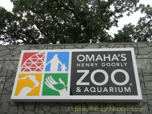 Omaha Zoo sign