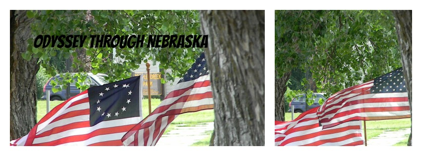 July 4th Two Flags Collage
