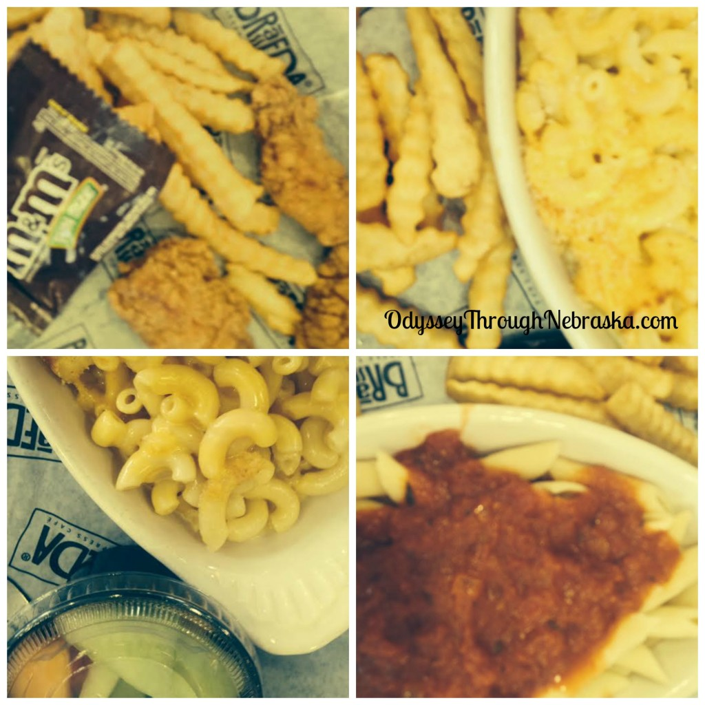 Braeda Kids Meal Collage