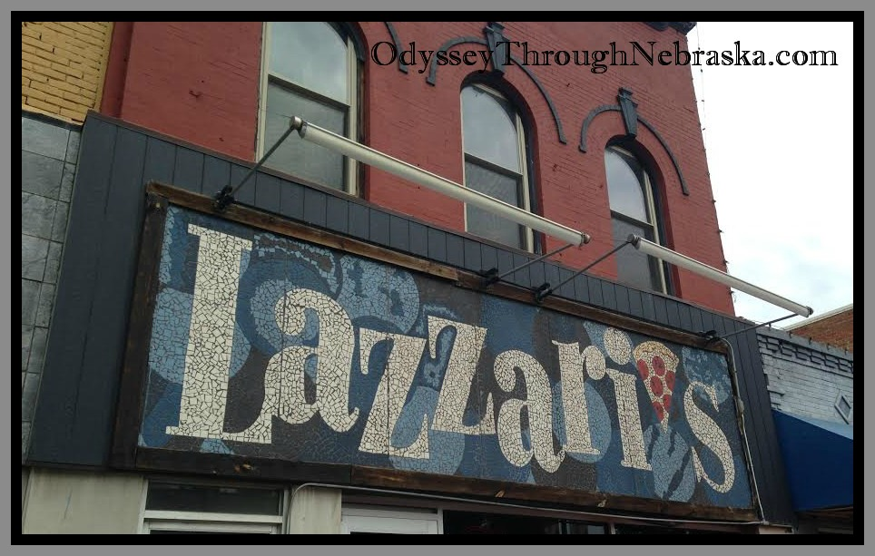 Lazzari's Sign with Border