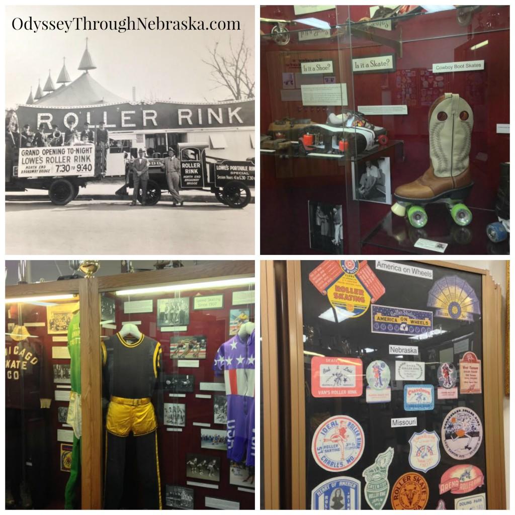 Roller Skating Museum Memorabilia