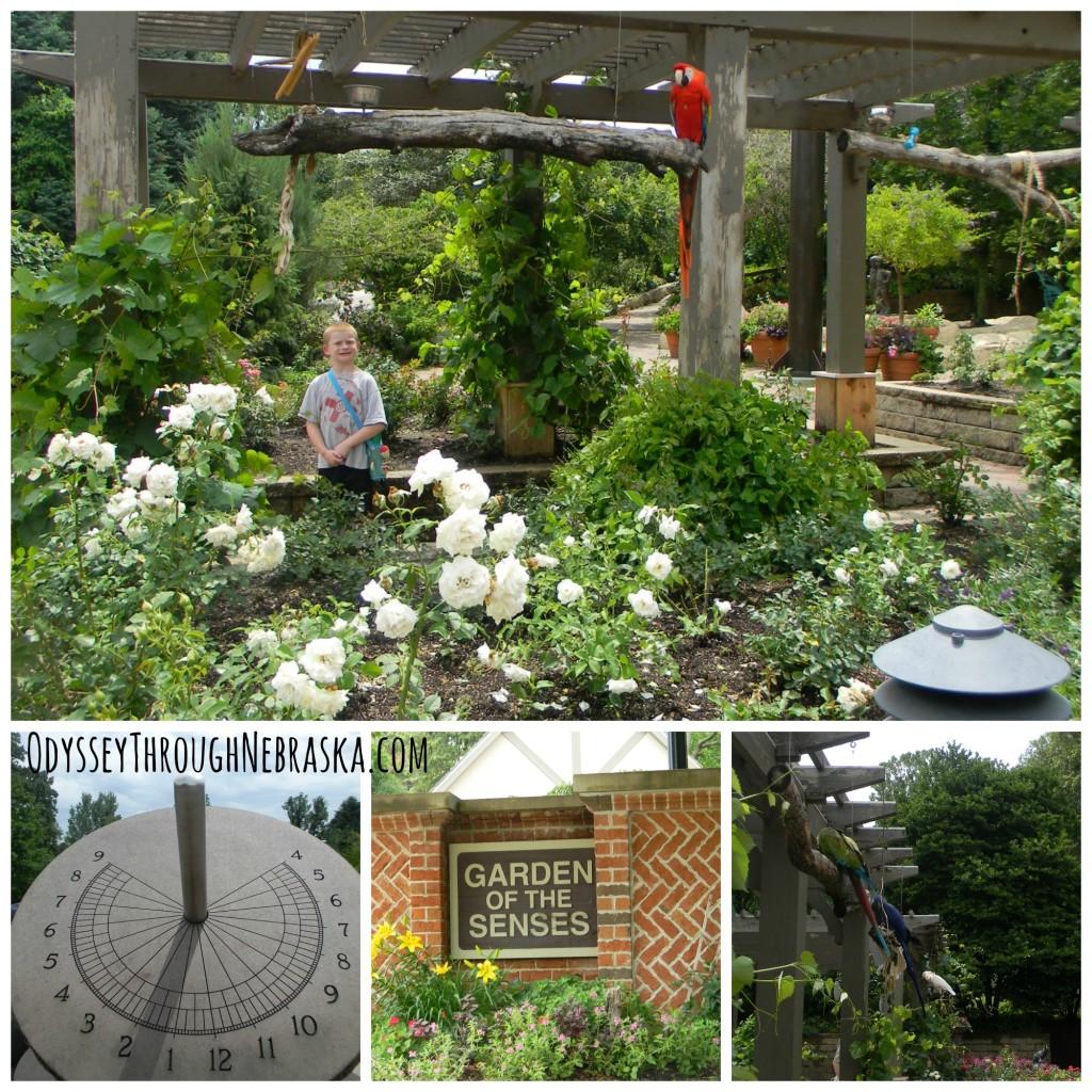 Henry Doorly Zoo Garden of the Senses Collage