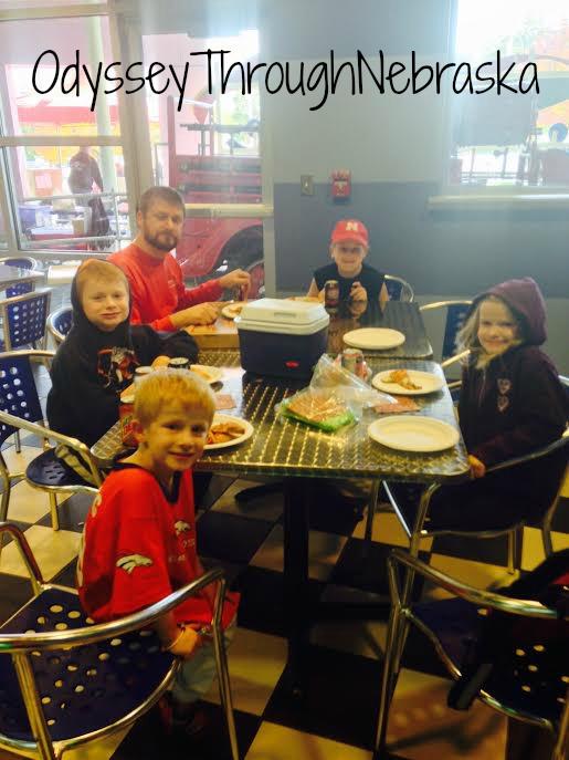 Omaha Children's Museum Lunch
