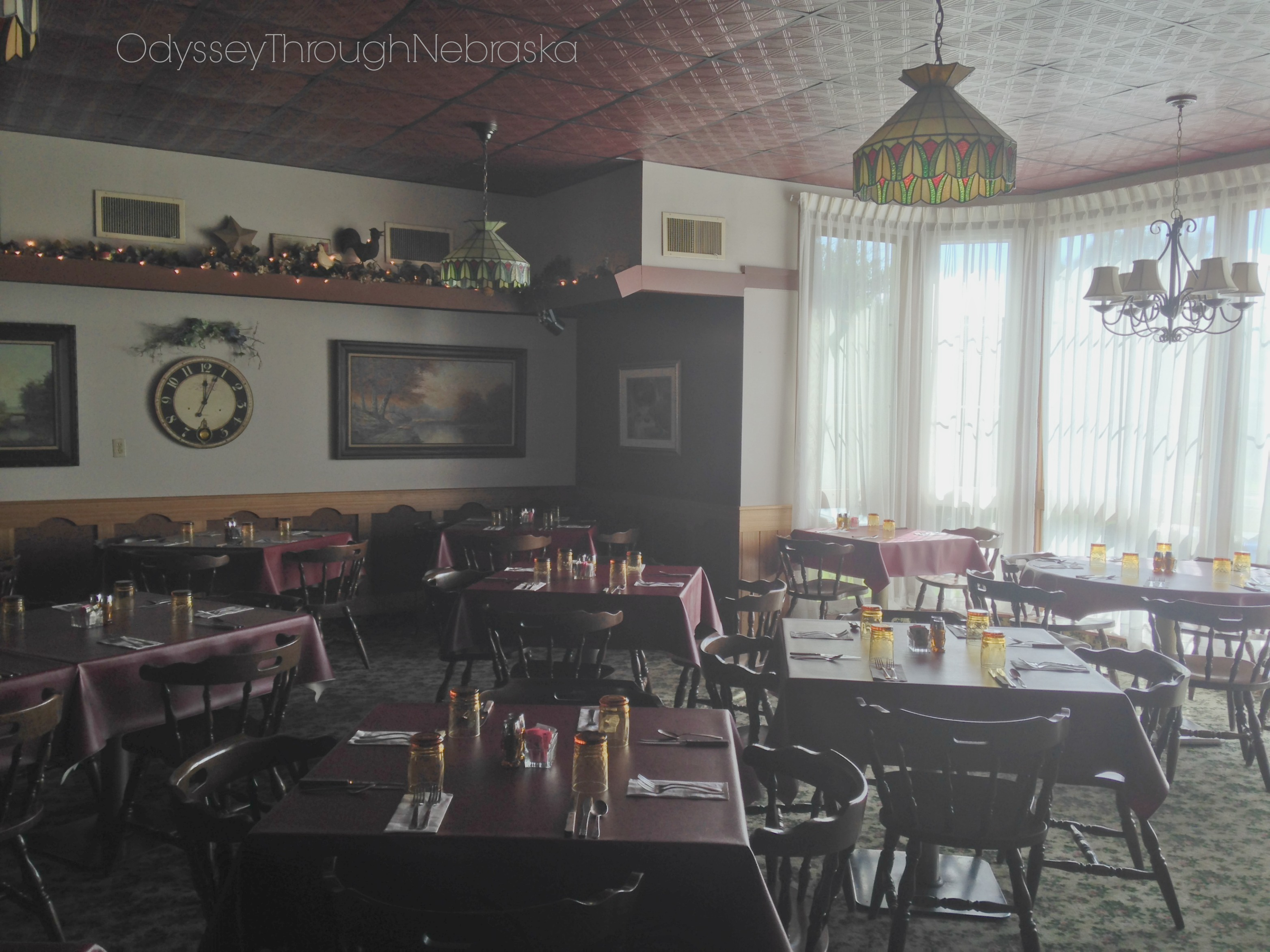 Central City Lincoln Manor Steak House Interior