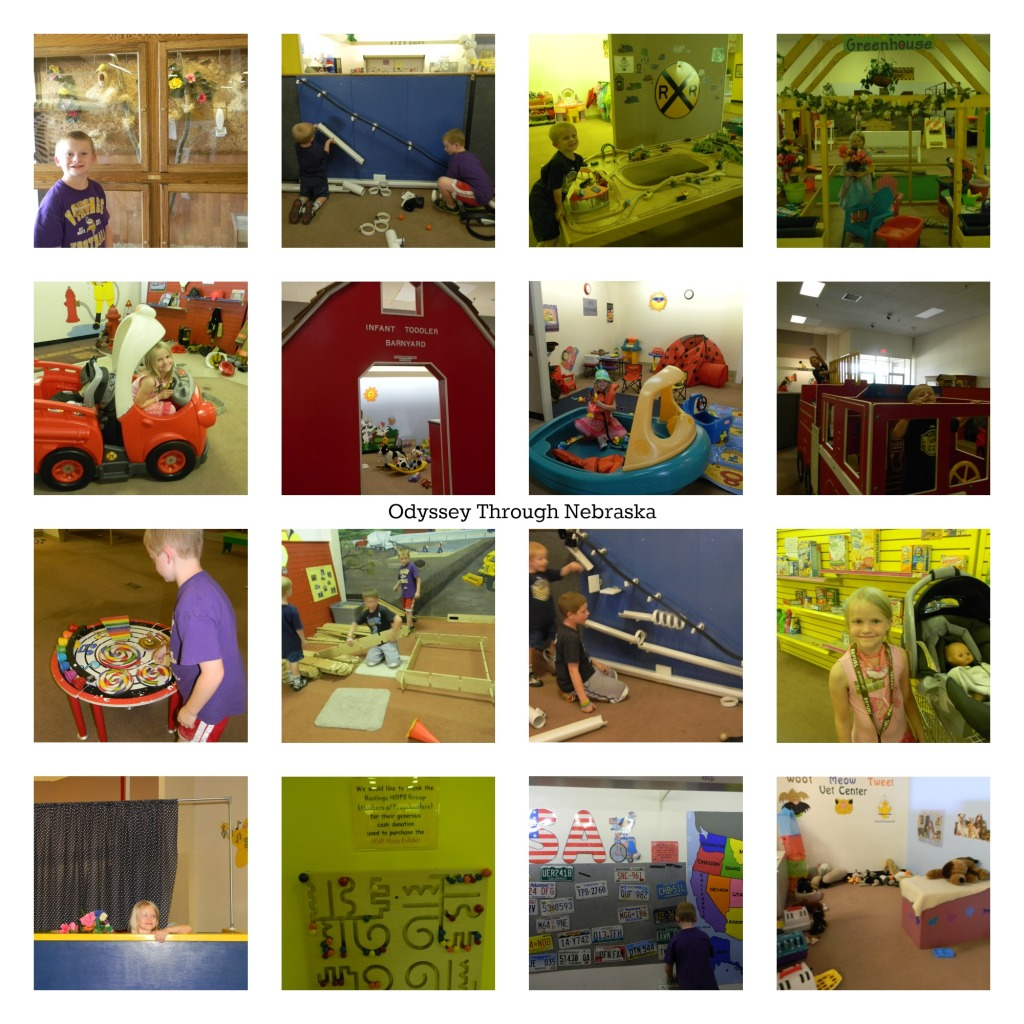 Children's Museum of Central Nebraska Large Collage