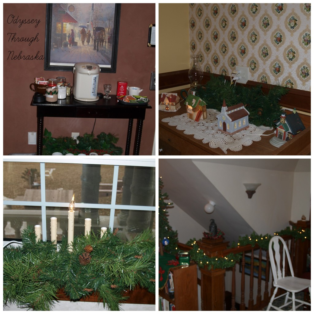 Prairie Creek Inn Bed & Breakfast Christmas Around the House Collage