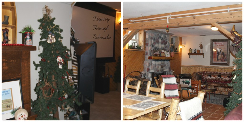 Prairie Creek Inn Bed & Breakfast Christmasbasement collage