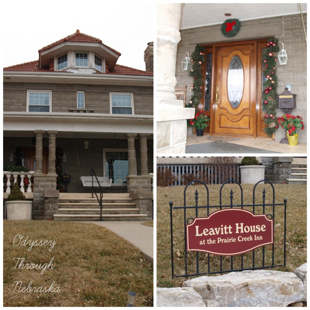 Prairie Creek Inn Bed & Breakfast Outdoor Christmas Collage