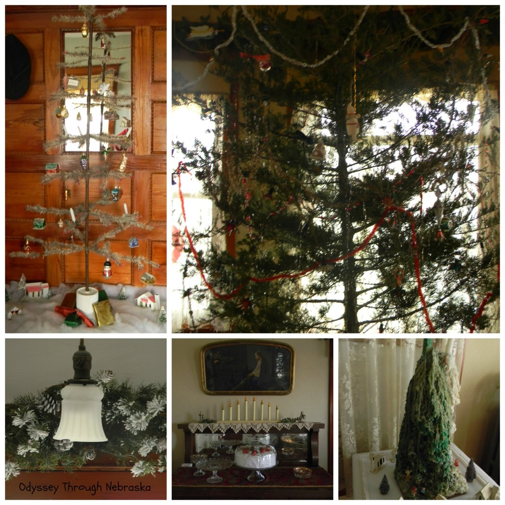Wessels Farm Christmas Main Floor Collage