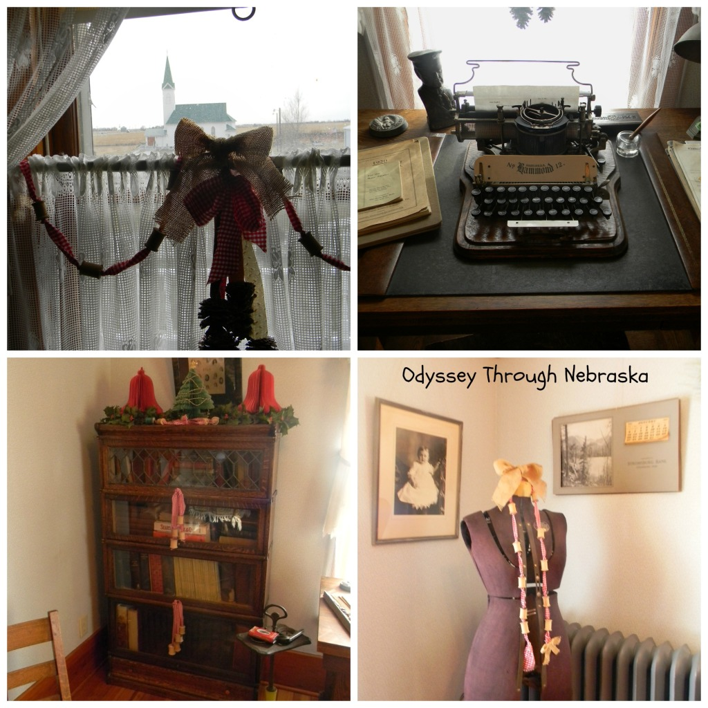 Wessels Farm Christmas Sewing Room Collage