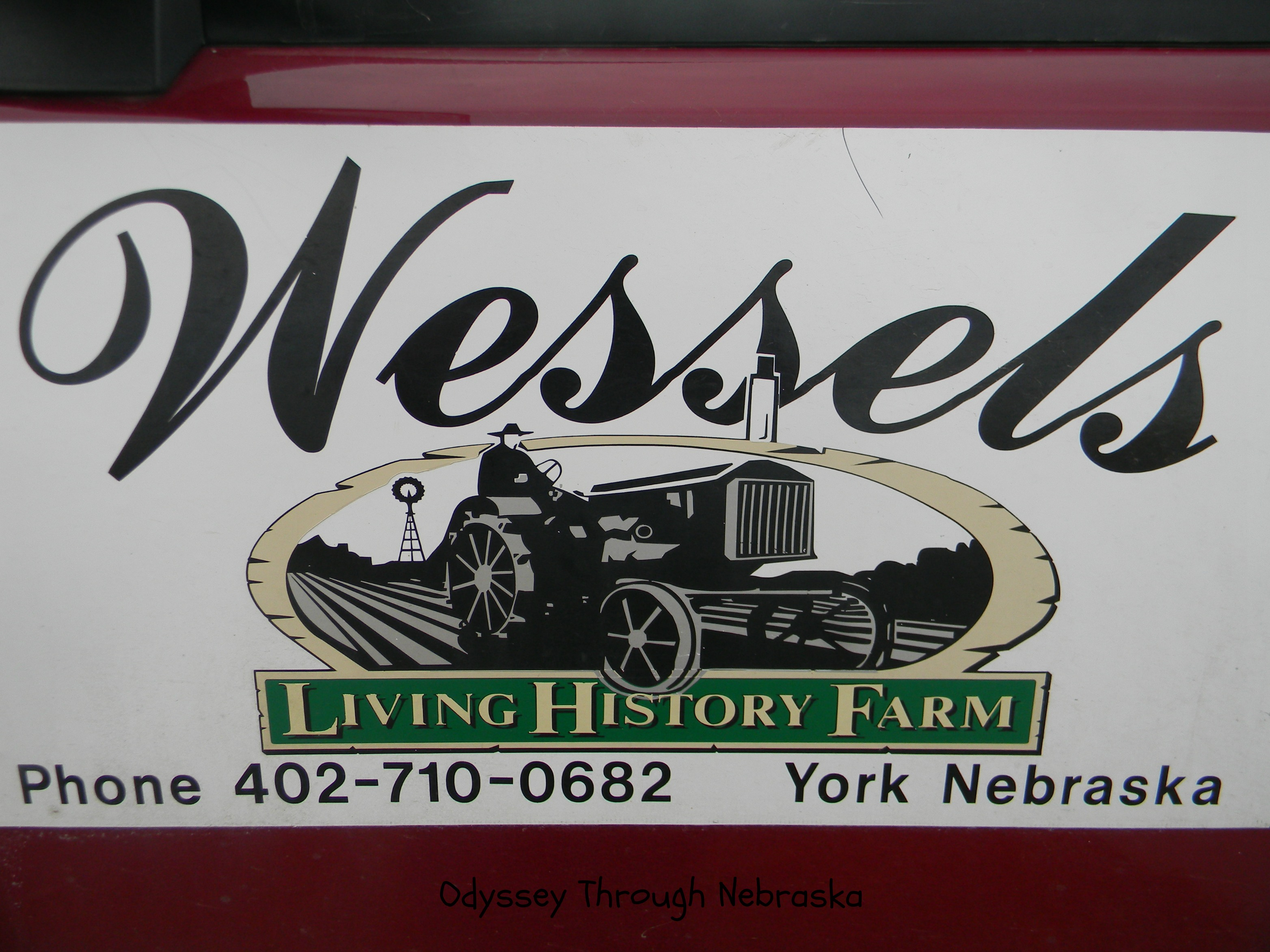 Wessels Farm Sign