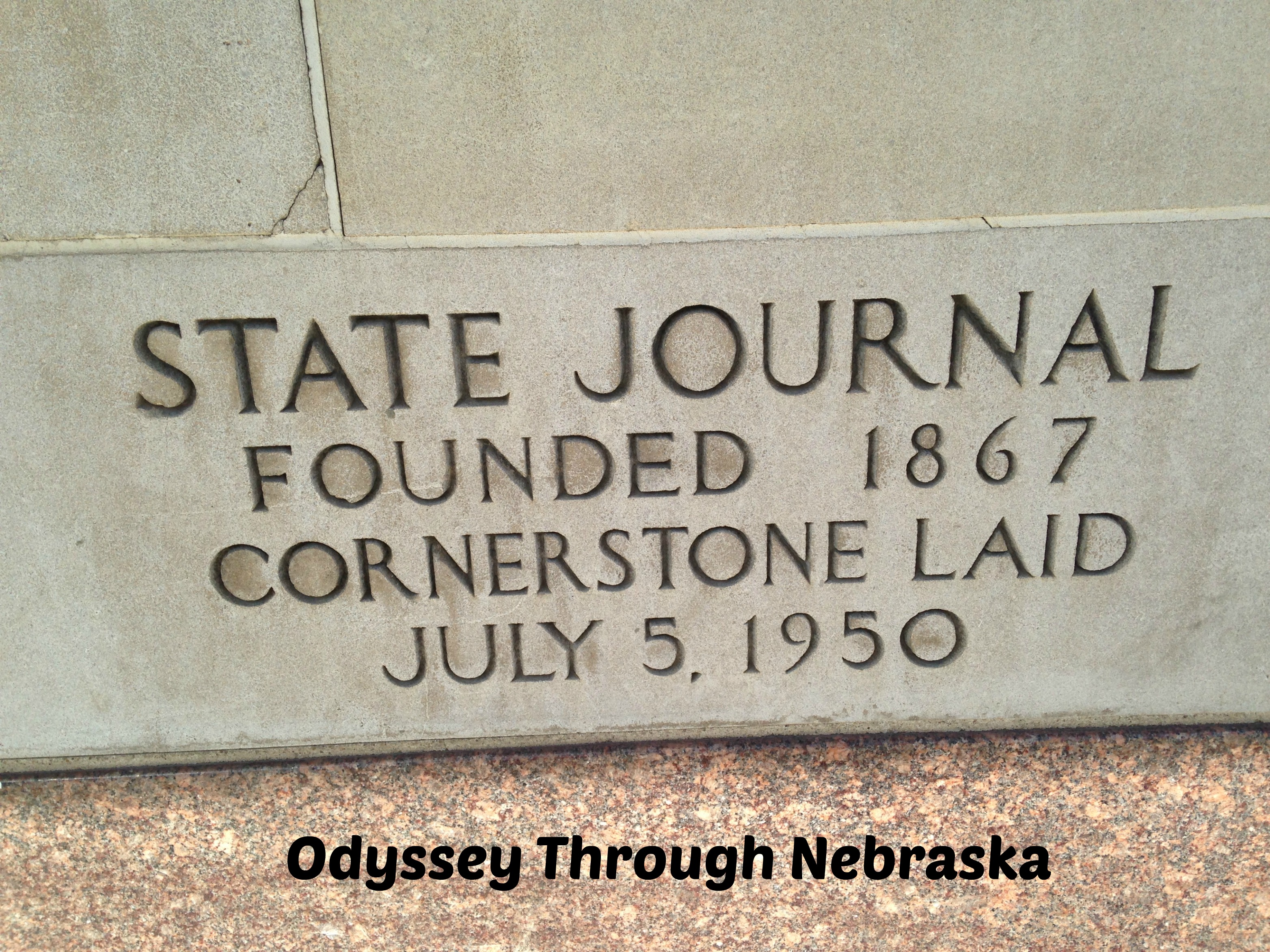 Journal Star cornerstone