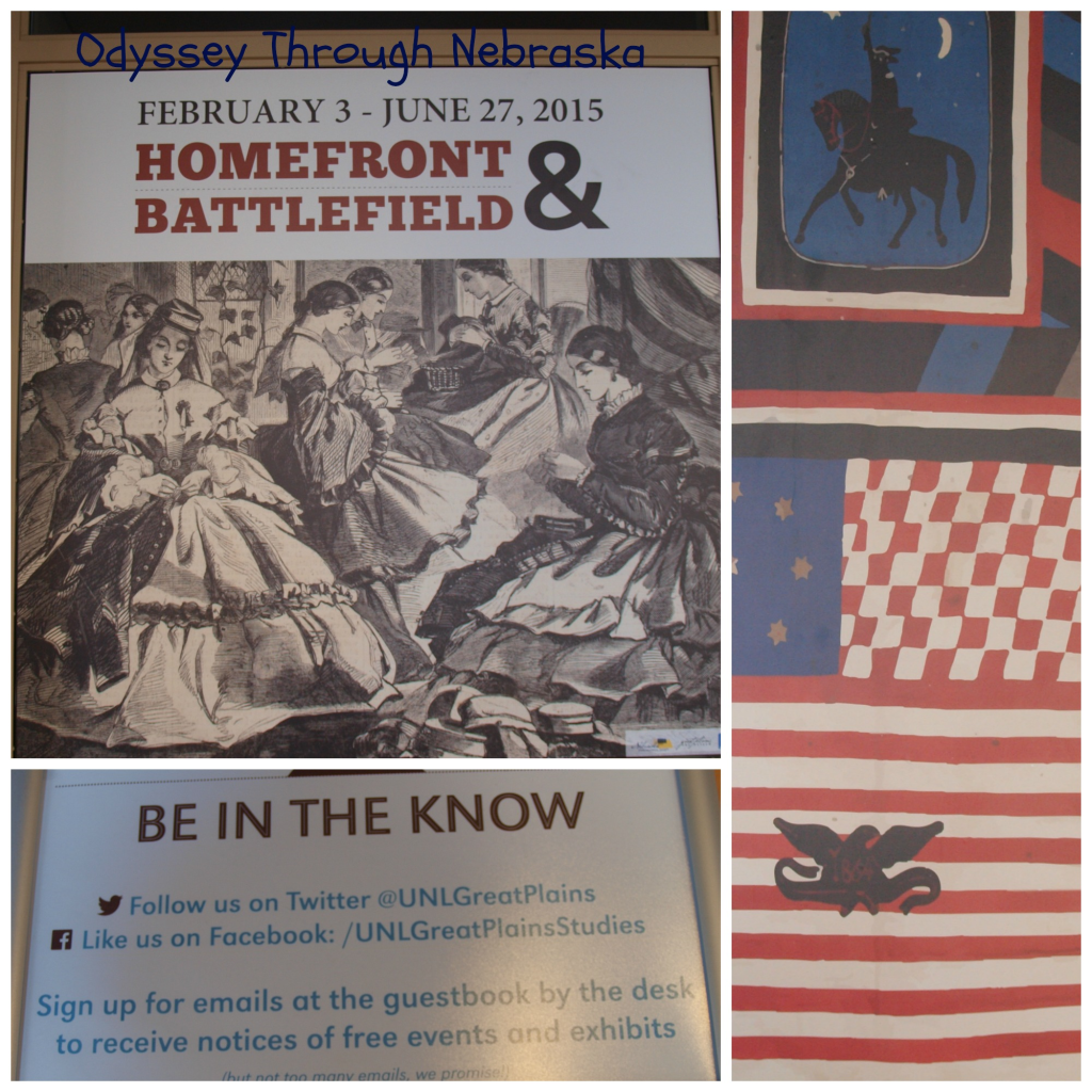 Homefront & Battlefield Exhibit Collage