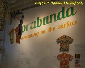 Omaha's Kaneko Gallery Florabunda Hawaiaan Shirt Exhibit