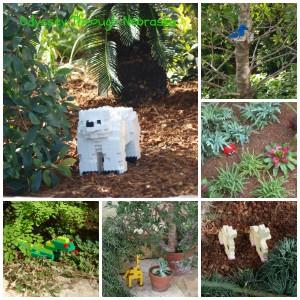 Lauritzen Garden Legos Hidden Animal Collage