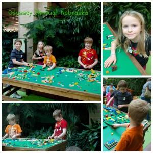 Lauritzen Garden Legos Kid Collage