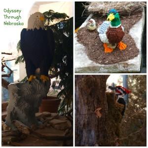 Lauritzen Gardens Legos Bird Collage