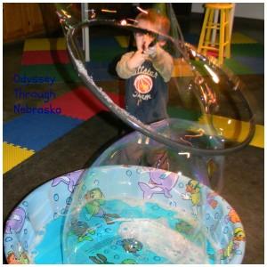 Edgerton Explorit Center Bubbles