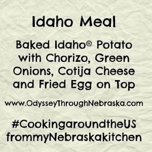 Idaho meal