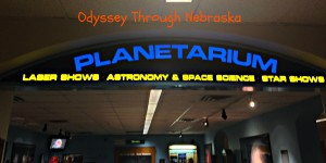 UNL Planetarium Sign