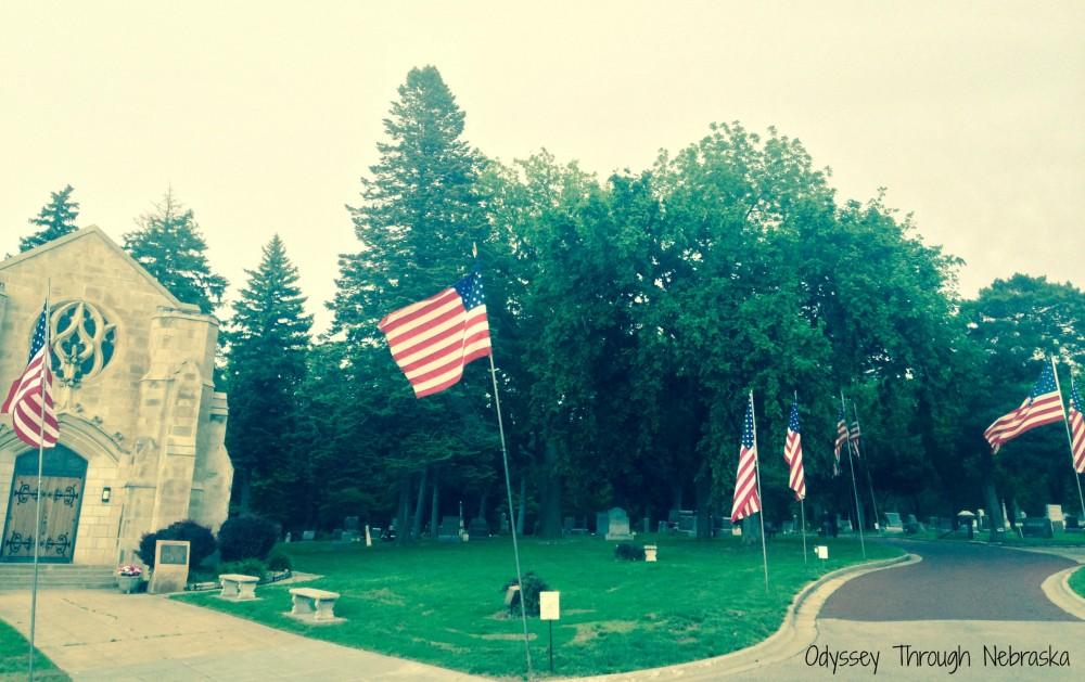 Wyuka Cemetery Memorial Day entrance