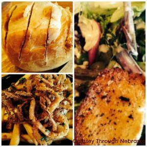 Carmela's Bistro First Course Collage