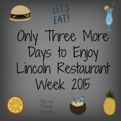 Lincoln Restaurant Week 2015