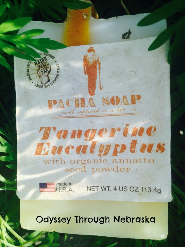 Pacha soap Tangerine Eucalptus