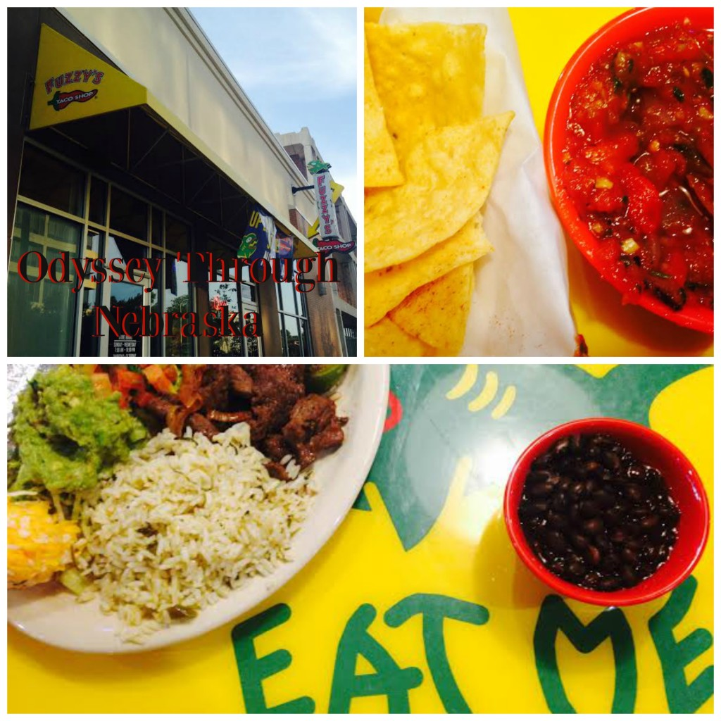 Fuzzy's Taco Shop Collage