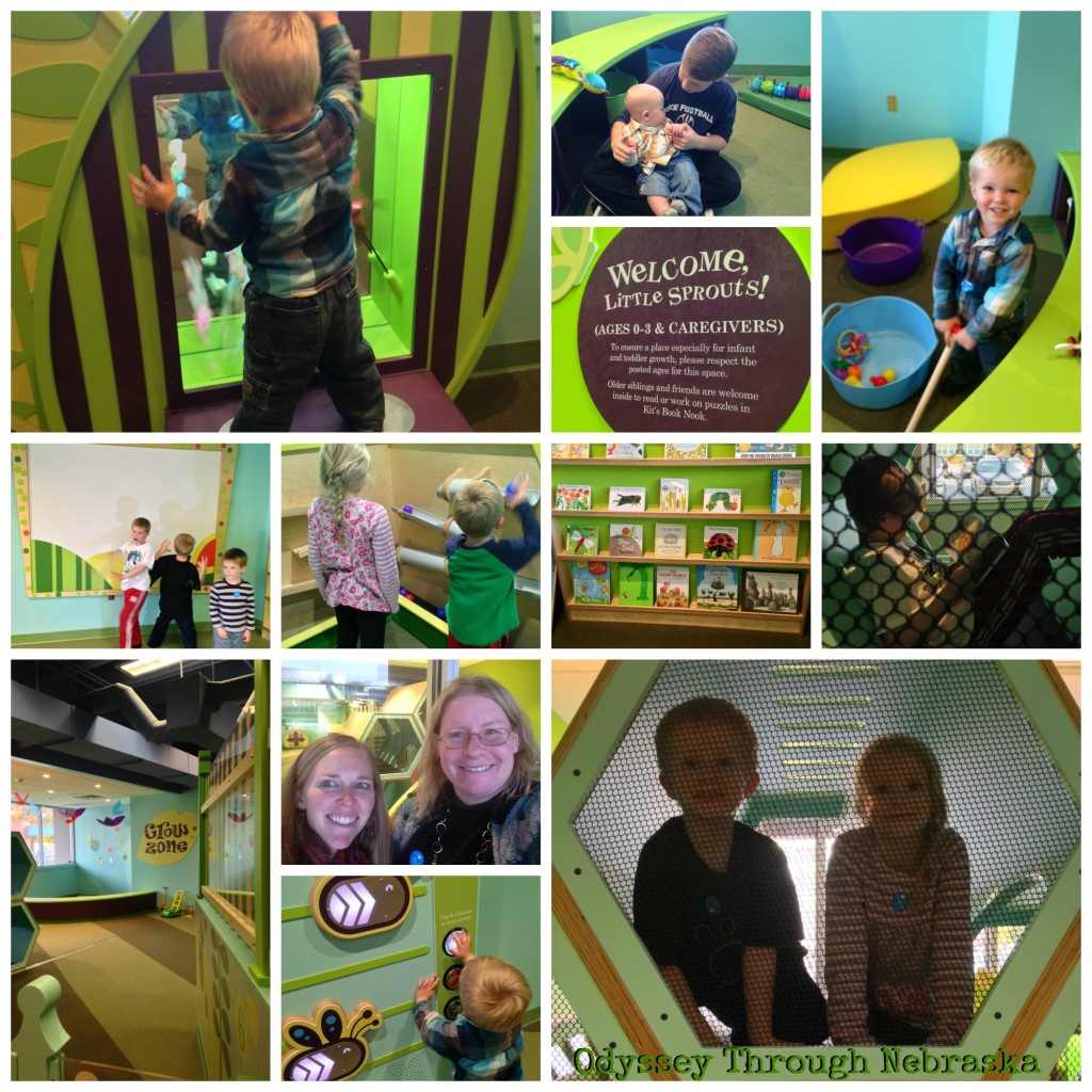 Lincoln Children's Museum Grow Zone Collage
