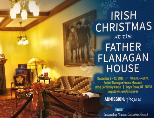 Celebrate an Irish Christmas at Father Flanagan's House Today 12-12-15