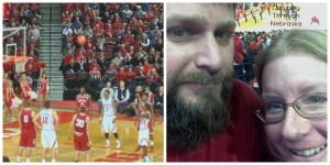 Husker Basketball Collage
