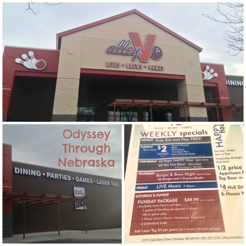 Alley V Omaha Collage plus Specials