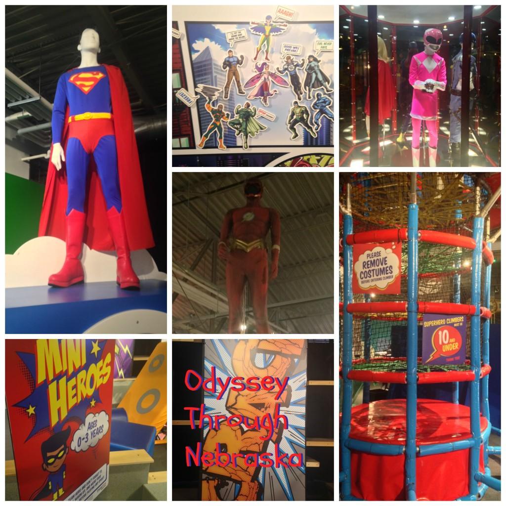 Omaha Children's Museum Super Hero Collage