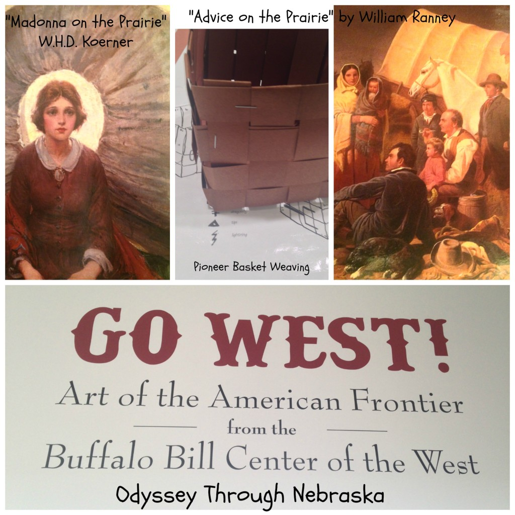 Go West! Joslyn Art Musesum Collage