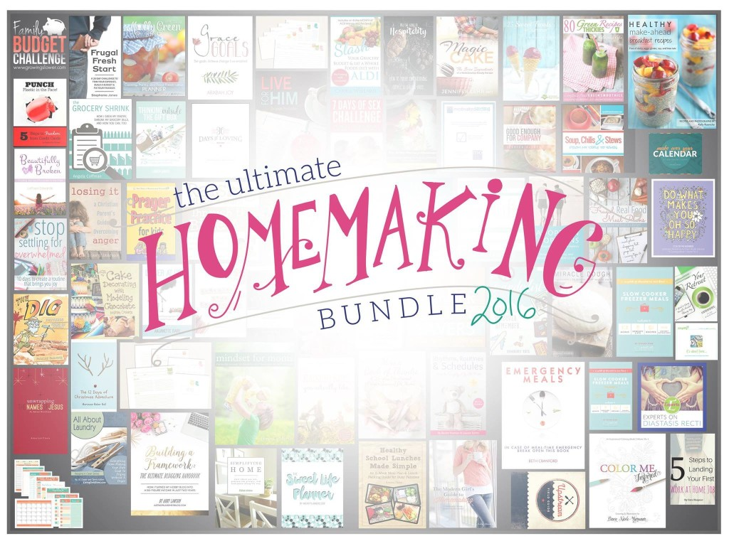 Simplifying Home Ultimate Homemaking Bundle