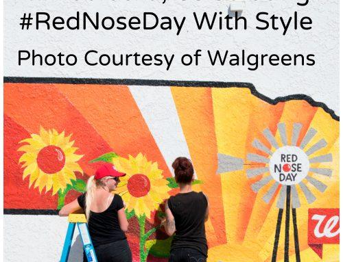 Celebrating Red Nose Day in Nebraska (May 26, 2016)