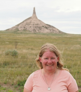 Chimney Rock Gretchen Garrison Odyssey Through Nebraska