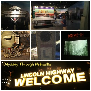 Kearney Archway Collage Lincoln Highway