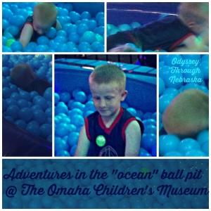 Omaha Children Museum Ocean Ball Pit  Collage