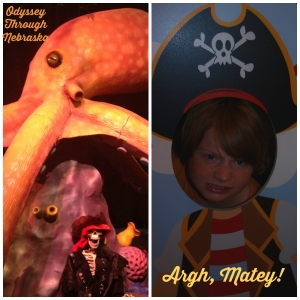 Omaha Childrens Museum Welcome Pirates Collage