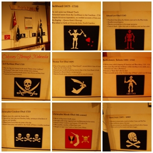 Omaha Durham Museum Pirate Flags  Collage