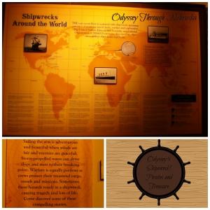 Omaha Durham Museum Shipwrecks Around the World Collage