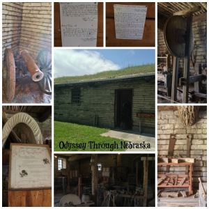Fort Kearny Blacksmith Shop Collage