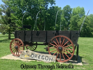 Fort Kearny Oregon Trail Wagon